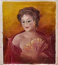 #14 Violetta de Koszeghy Oil on Canvas Painting