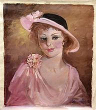#7 Violetta de Koszeghy Oil on Canvas Painting