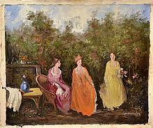 #8 Violetta de Koszeghy Oil on Canvas Painting