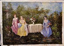 #11 Violetta de Koszeghy Oil on Canvas Painting
