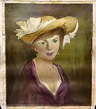 #12 Violetta de Koszeghy Oil on Canvas Painting