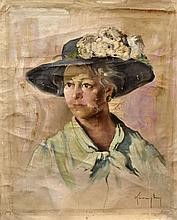 #9 Violetta de Koszeghy Oil on Canvas Painting
