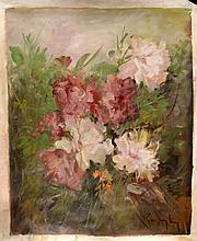 #10 Violetta de Koszeghy Oil on Canvas Painting