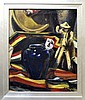 Russell Leidy Oil Painting, Black Pot