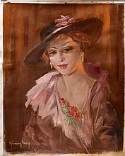 #17 Violetta de Koszeghy Oil on Canvas Painting