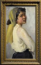 Russian Oil Painting, Volsky Pyotr Dmitriyevitch