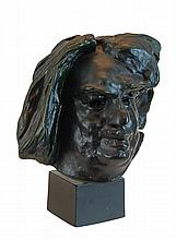 After Rodin Bronze Bust, Balzac, Monumental Head