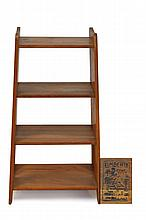 Limbert #300 Oak Magazine Rack. Mission Arts & Crafts Era