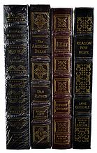 4 Vols. Signed First Editions, Easton Press