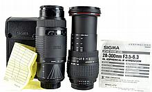 PAIR Sigma Camera Lens for Nikon Lot