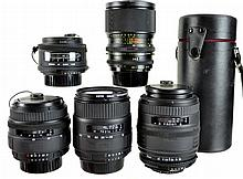 (5) Pcs. Sigma Camera Lens Lot