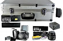 Zenza Bronica ETRsi 220 Camera, Case, 6x4.5 Body