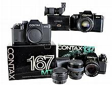 Vintage Contax 35mm Film Camera Lot