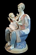 Lladro Porcelain Figure 5584 - Father's Day