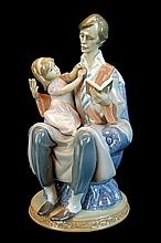Lladro Porcelain Figurine 5584 - Daddy's Girl