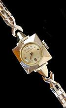 14K White Gold Longines Ladies Wrist Watch
