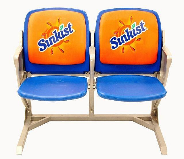Sunkist Novelty Stadium Seats