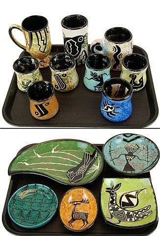 Art Pottery Lot