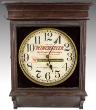 Old Sessions Winchester Store Advertising Clock