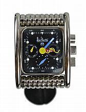 Alain Silberstein Architecte Horloger Steel Watch