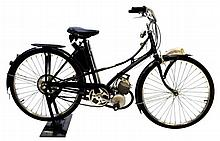 1951 French Motobecan Motor Bike