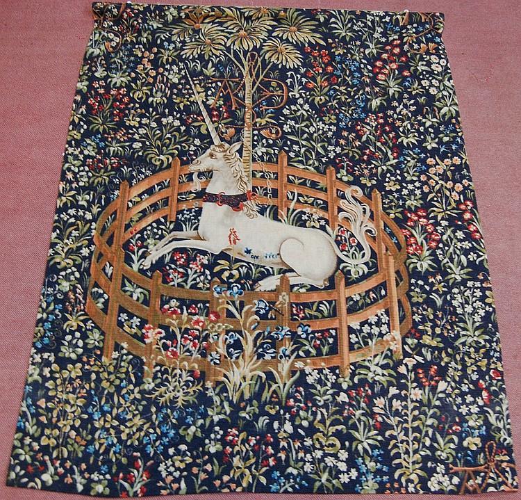 tapisserie la licorne captive 1m70x1m26 edition moderne. Black Bedroom Furniture Sets. Home Design Ideas