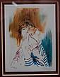 FRANCK L  (né en 1968) : Lithographie EA 18/30