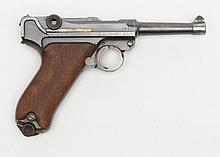 German Luger semi-auto pistol by Erfurt Royal