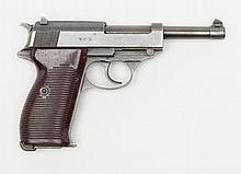 German Mauser P-38 DA semi-auto pistol, 9mm cal.,