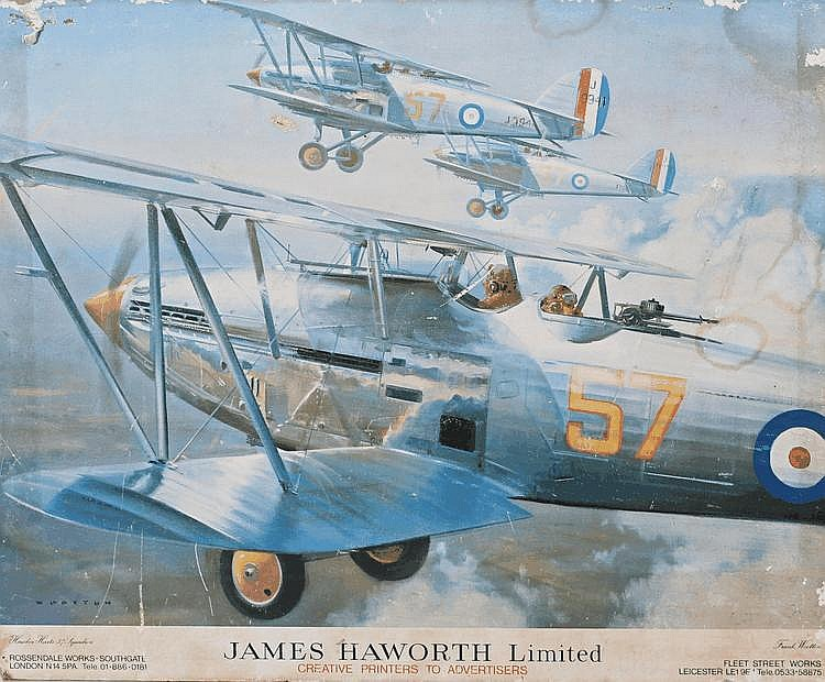 Advertising poster, James Hawworth Limited, Hawker