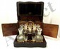 Brass Trimmed Traveling Brandy Set