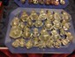 Lot of 28 Early American Glass Cabinet Knobs