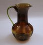 Art Glass Pitcher 12'
