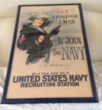 WWII Navy Recruiting Poster