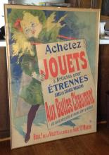 French Poster- Achetez Jouets 1929