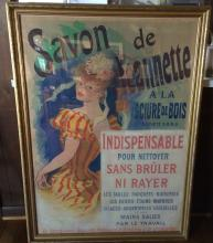 French Poster- Savon Du Jeanette