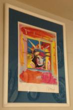 Liberty Head by Peter Max Version 80-56