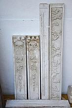 Cheminée en marbre blanc, Louis XVI
