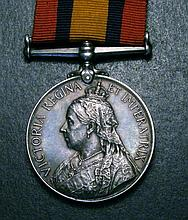 Queen's South Africa Medal 1899-1902, two bars Cape Colony, Orange Free State (1814 Pte. H. Aldersey