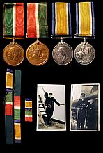Captain J.E.Crossland R.N.R.,R.D., Royal Navy Reserve Medal for long and distinguished service, with