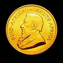 Coins: South Africa Krugerrand 1981 Unc
