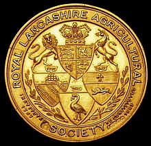 Commemorative and Campaign Medals: Royal Lancashire Agricultural Society, Agricultural Prize Medal 1