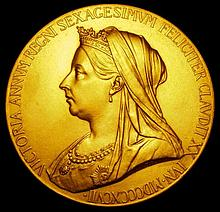 Commemorative and Campaign Medals: Victoria Jubilee 1897 Medal, GOLD, official Royal Mint issue, obv