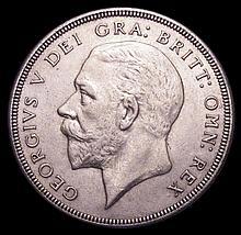 English Coins: Crown 1931 ESC 371 NEF/GVF