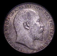 English Coins: Sixpence 1909 ESC 1793 PCGS MS63