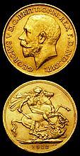 English Coins: Sovereign 1912 Marsh 214 VF, Half Sovereign 1912 Marsh 527 NEF