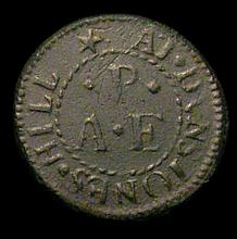 British Tokens -  17th Century London, St.Dunstans in the Ea