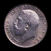 Sixpence 1913 ESC 1798, CGS type SP.G5.1913.01, UNC, slabbed