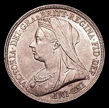 English Coins -  Crown 1896 LIX ESC 310 Davies 517 dies 1D G