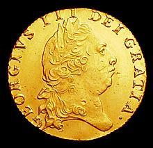 English Coins -  Guinea 1798 S.3729 EF with surface marks an